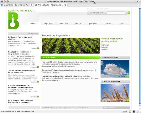 Benini Antonio - nuovo sito