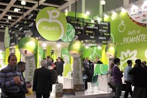 Stand regione Piemonte a Fruit Logistica