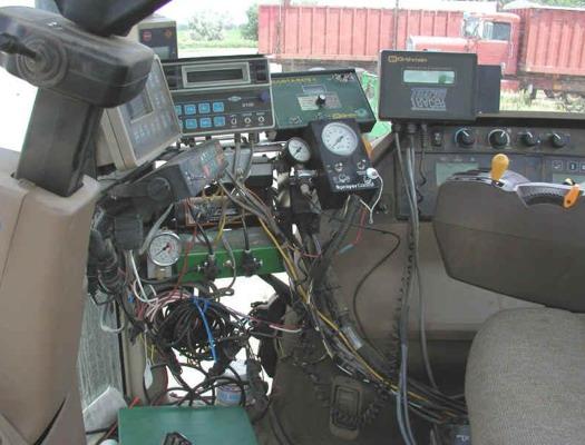 dispositivi anni 90 per comunicazione trattori - macchine agricole