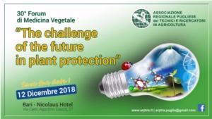 30° Forum di medicina vegetale: il futuro della protezione delle piante