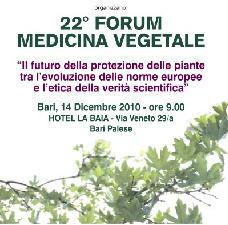 Bari, 22° forum di medicina vegetale, tra norme europee e verità scientifiche