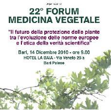 22° forum di medicina vegetale, tra norme europee e verità scientifiche