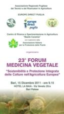Forum di medicina vegetale: le relazioni della seconda sessione