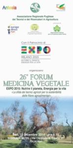 26° Forum di medicina vegetale