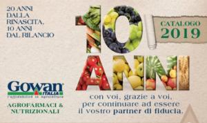 Gowan Italia: 20 anni dalla rinascita, 10 anni dal rilancio