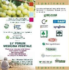 Bari, 21° Forum di medicina vegetale