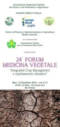 Integrated crop management e cambiamento climatico