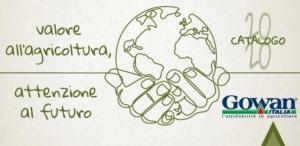 Sostenibilità e innovazione nel nuovo catalogo Gowan Italia