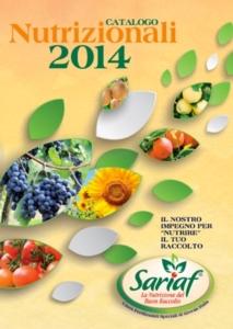 Nuovo catalogo Sariaf: una gamma completa di fertilizzanti speciali
