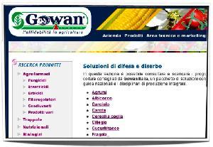'Soluzioni di difesa e diserbo', novità sul sito di Gowan