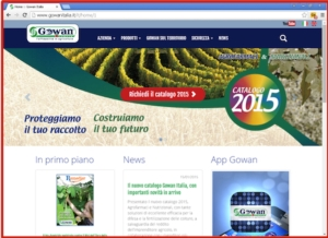 On-line il nuovo sito Gowan Italia: più moderno, più utile