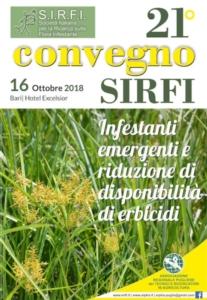 Sirfi, appuntamento con il 21° Convegno a Bari