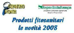 Prodotti fitosanitari: le novità del 2008