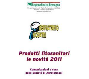 Prodotti fitosanitari: le novità 2011