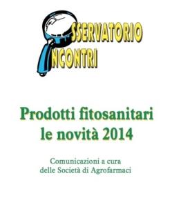 Prodotti fitosanitari, le novità 2014