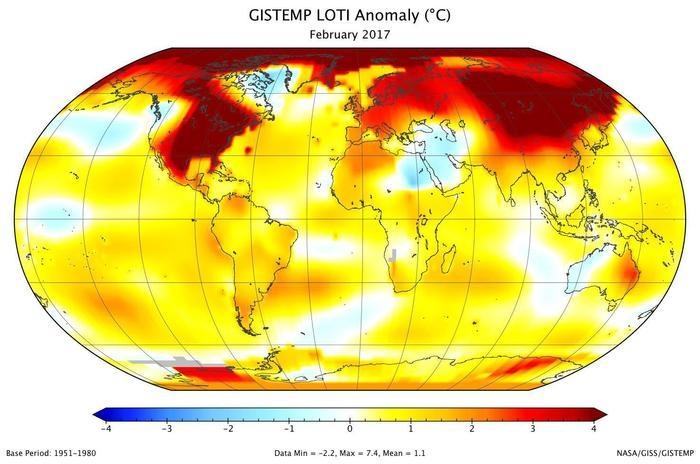 record-febbraio-2017-temperature-globali