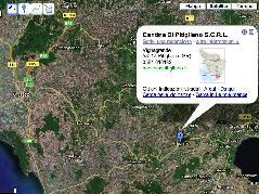 Cantina di Pitigliano  - Immagine satellitare