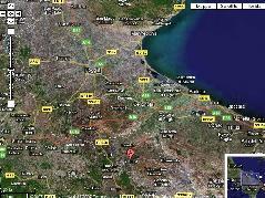 Cantina di Venosa - Immagine satellitare