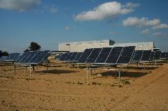 Pannelli solari a Feudo Arancio