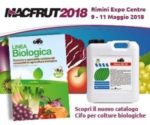 Novità Cifo a Macfrut per un'agricoltura sostenibile