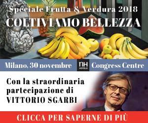 Speciale Frutta & Verdura 2018: ospite d'eccezione VITTORIO SGARBI