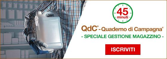 Magazzino in regola con QdC®: appuntamento online