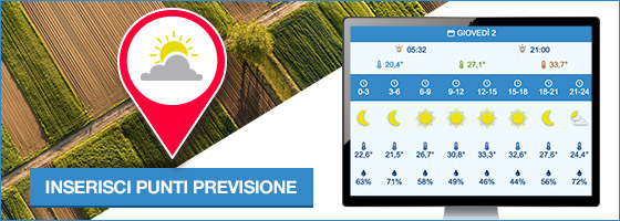 In agricoltura mai senza l'Agro-Meteo