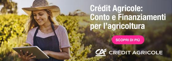 Crédit Agricole sempre a sostegno dell'agricoltura