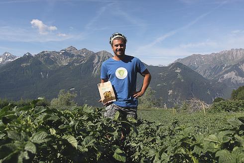 L'azienda è situata nella Valdigne, la parte superiore della Valle d'Aosta