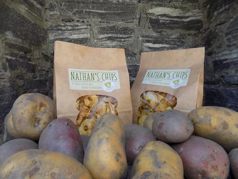 Sono due le varietà di patate coltivate, Désirée e Agria