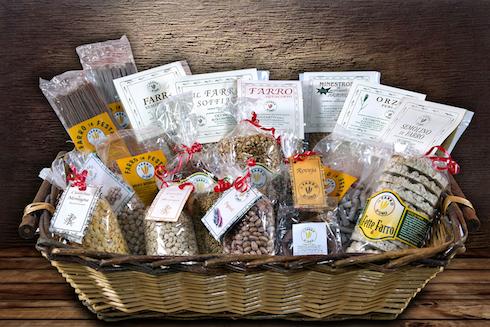 Alcuni prodotti dell'azienda agricola Cicchetti
