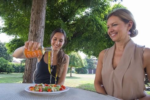 Eleonora Farinazzo e sua madre Giovanna