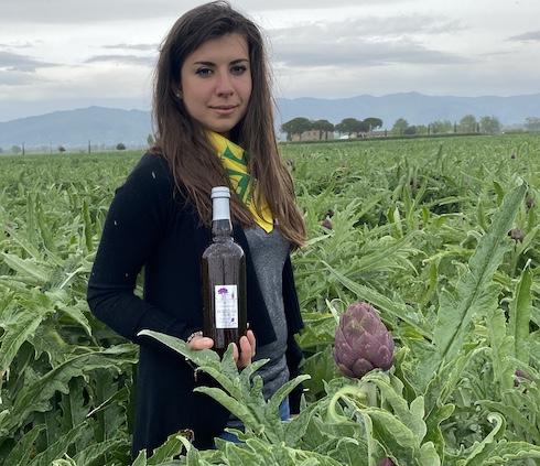 Valentina Rossiello lavora nell'azienda agricola di famiglia La Colmata