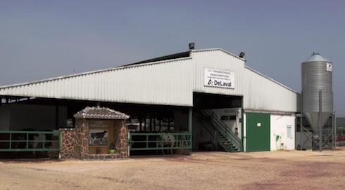 L'allevamento di Talavera La Nueva (Spagna) dove è stato testato l'innovativo sistema di raffrescamento DeLaval