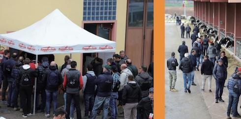 Più di 250 gli allevatori provenienti da tutta Italia che hanno partecipato alla giornata di Bedizzole (Bs)