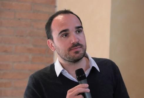 Bernard Andrieu durante il suo intervento alla giornata di Marmirolo