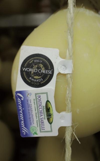 Il logo del World Cheese Awards, vero e proprio campionato mondiale del formaggio