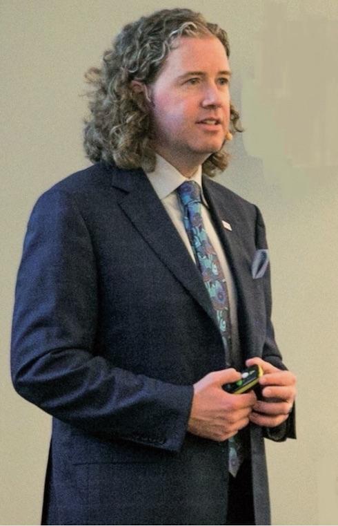 Il presidente di Alltech Mark Lyons in occasione del suo intervento al Forum di Caserta