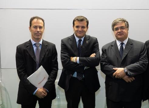 Massimo De Bellis, Gian Marco Centinaio e Roberto Zanchi