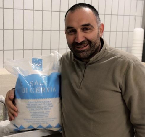 Il rinomato (e costoso) sale di Cervia è usato sia in stalla che in caseificio