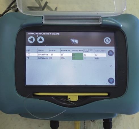 Il sistema di monitoraggio della ruminazione consente alla famiglia Viazzani di avere sempre sotto controllo la mandria, capo per capo, o sulla centralina di Heatime o, volendo, anche direttamente sullo smartphone