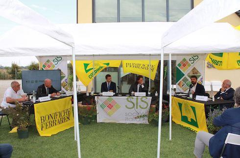 Conferenza stampa arachide italiana