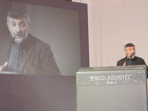 Antonio Pascale ai Forum di medicina vegetale di Bari, anno 2017