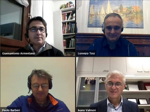 Gianantonio Armentano, LOrenzo Tosi, Paolo Bàrberi e Ivano Valmori