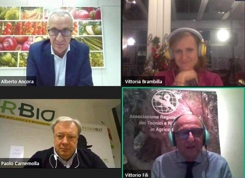 Alberto Ancora, Vittoria Brambilla, Paolo Carnemolla e Vittorio Filì