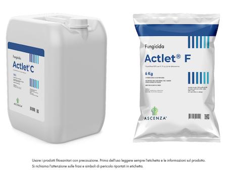 Actlet C e Actlet F