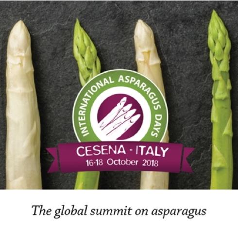 L'Internationa asparagus day è a Cesena dal 16 al 18 ottobre 2018