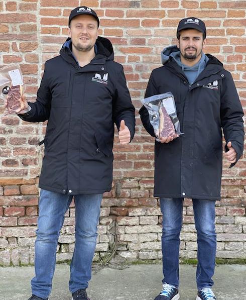 Alessandro e Vittorio Gaboardi, titolari de La Cigolina