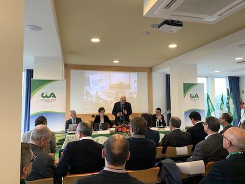 Da sinistra: Ivano Valmori, Lucia Betti, Danilo Misirocchi e Cristiano Fini