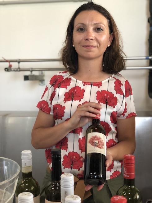 Elisa della Cantina vinicola Marta Valpiani